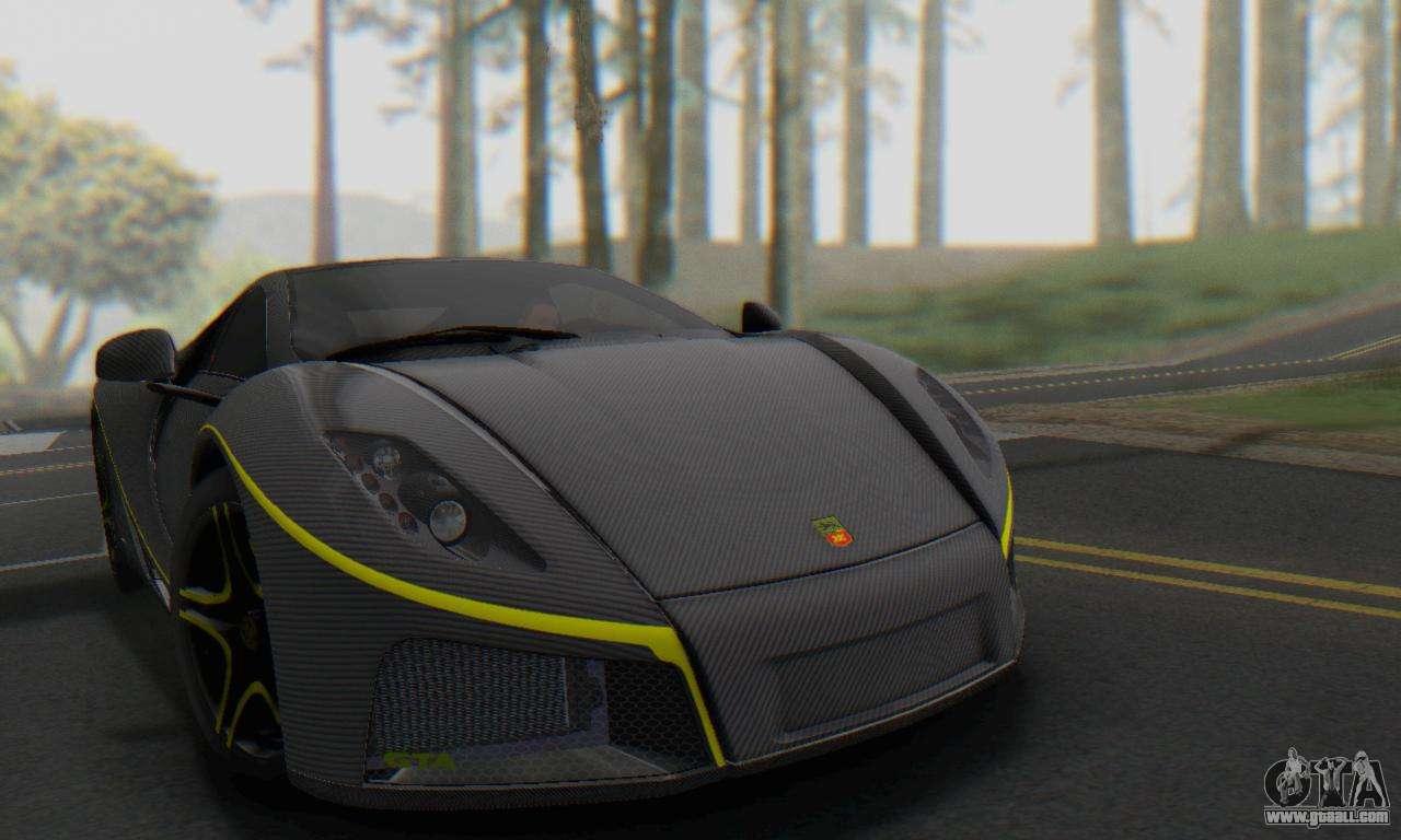 gta spano 2014 carbon edition for gta san andreas