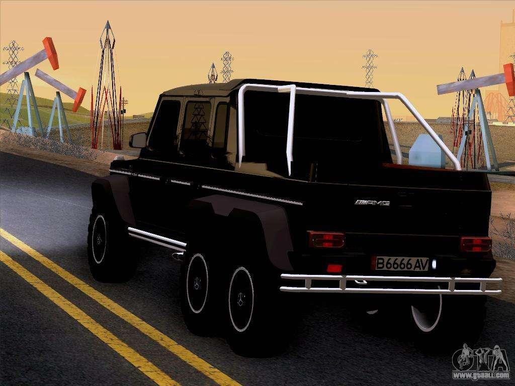 Mercedes Benz G65 Amg 6x6 For Gta San Andreas