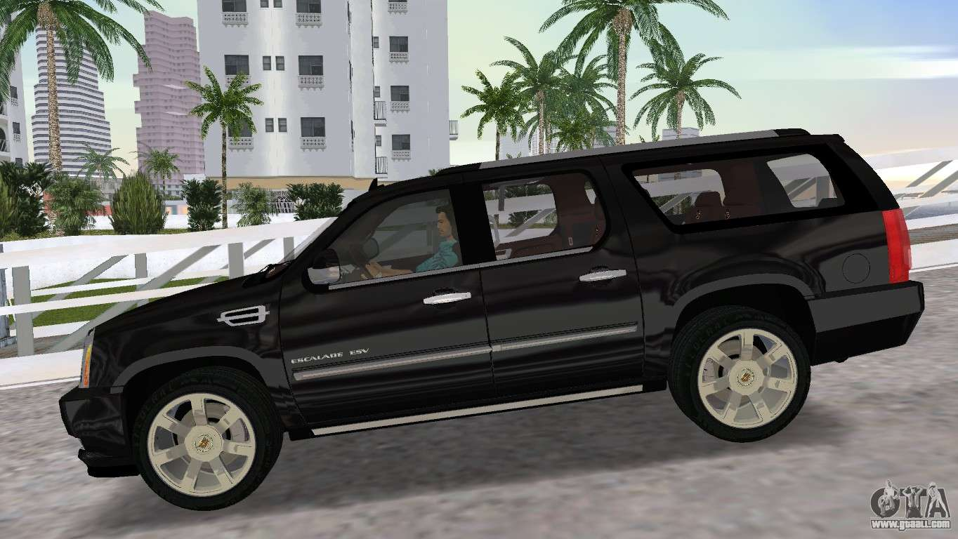 cadillac escalade esv luxury 2012 for gta vice city. Black Bedroom Furniture Sets. Home Design Ideas