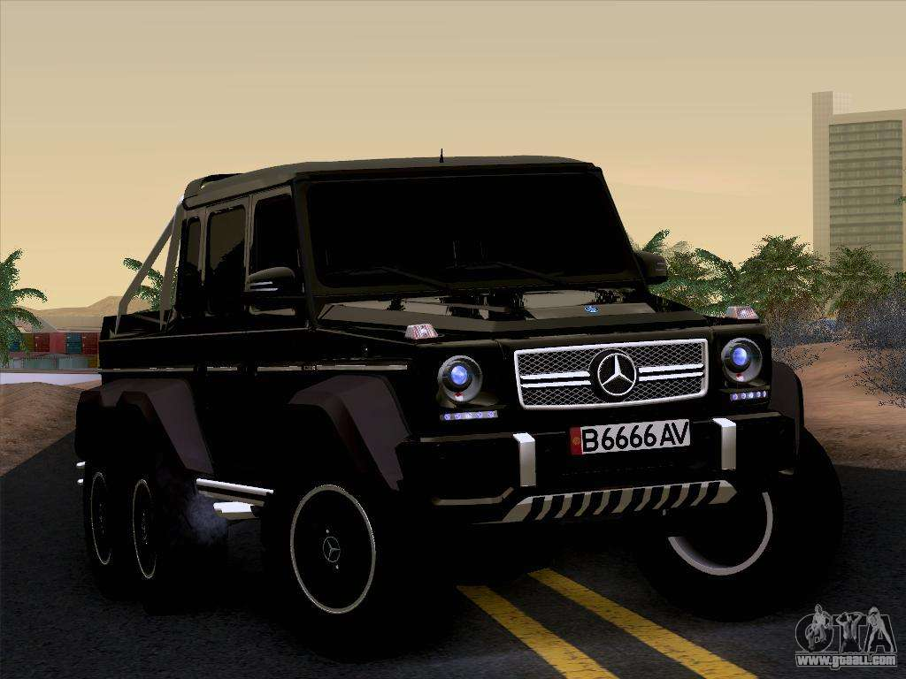 Mercedes benz g65 amg 6x6 for gta san andreas for Mercedes benz g65 price