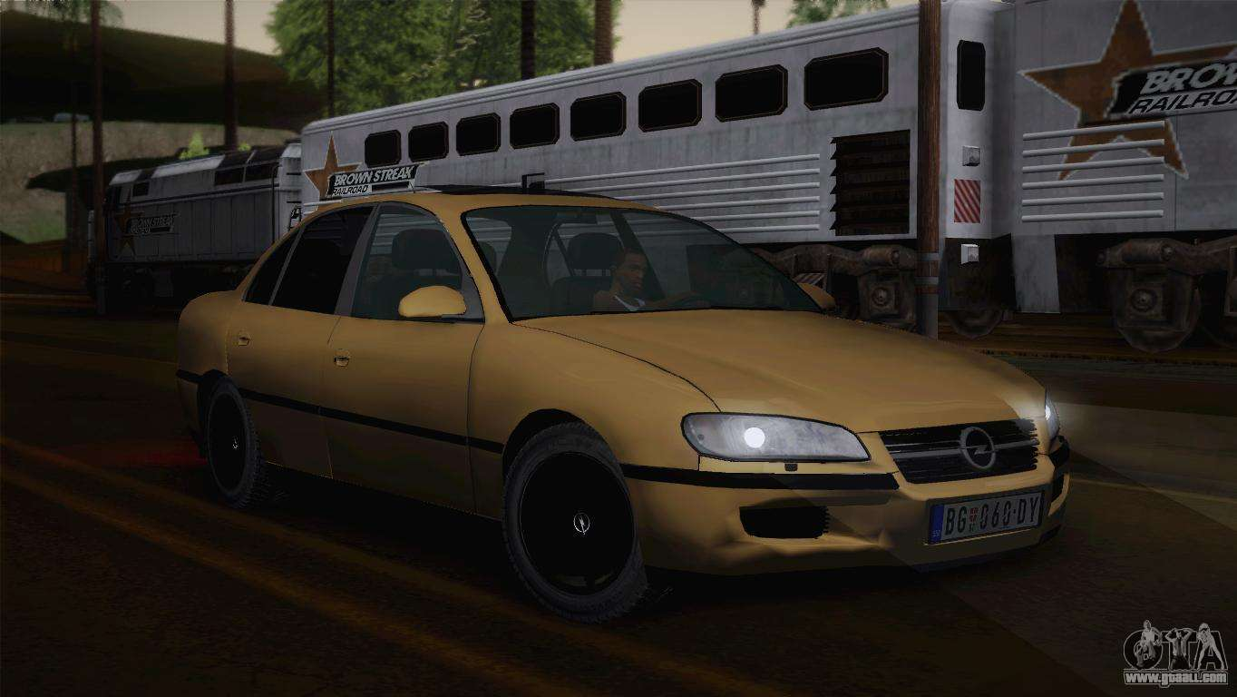 opel omega b for gta san andreas. Black Bedroom Furniture Sets. Home Design Ideas