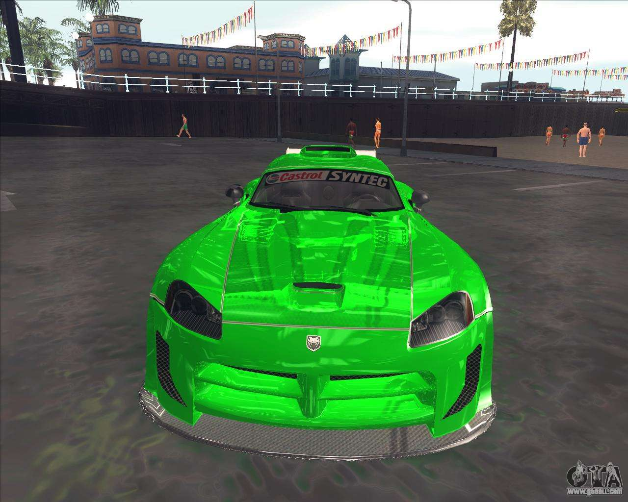 Dodge Viper SRT From NFS MW For GTA San Andreas Left View