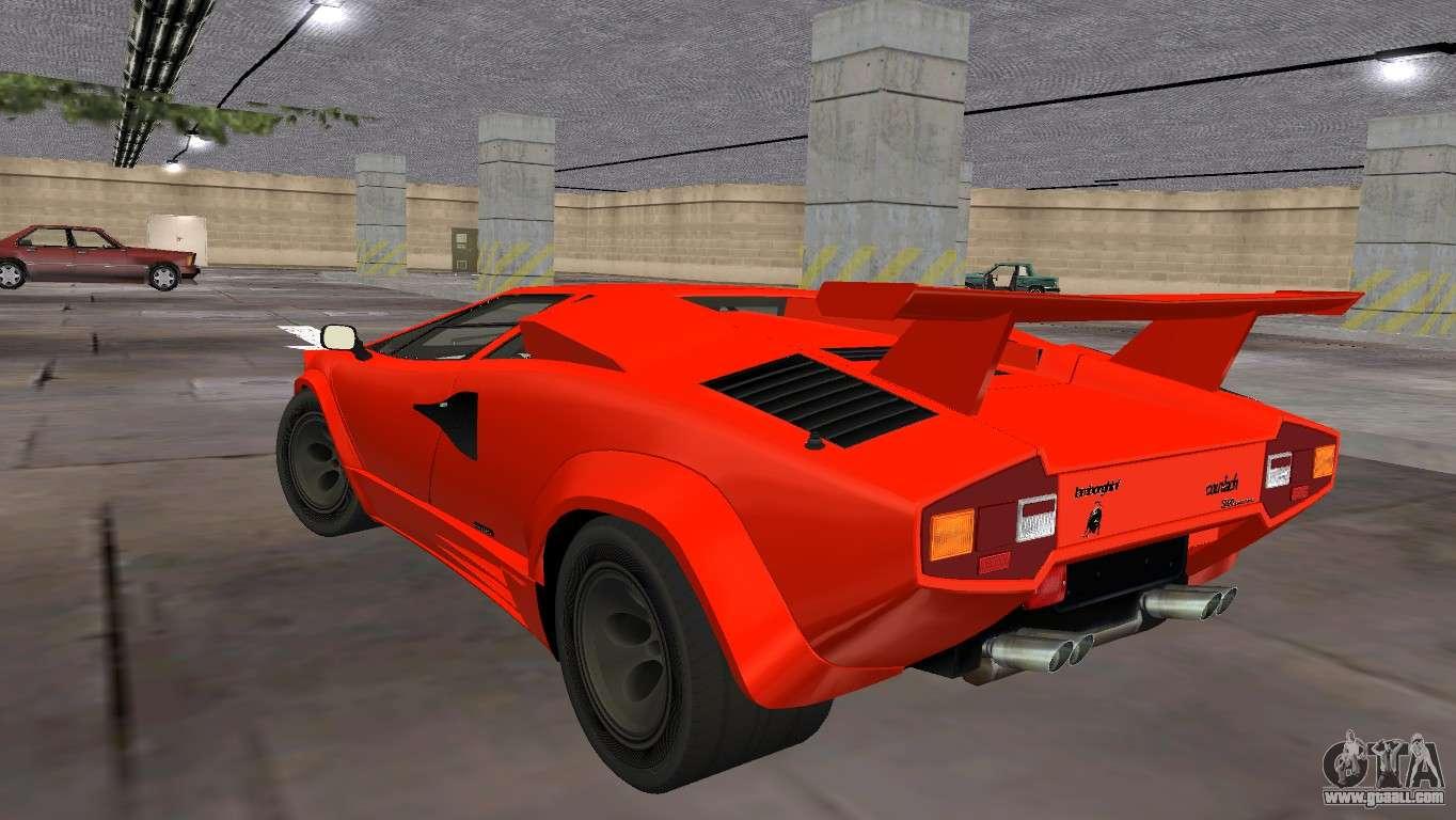 Lamborghini Countach Lp5000 Extreme For Gta Vice City