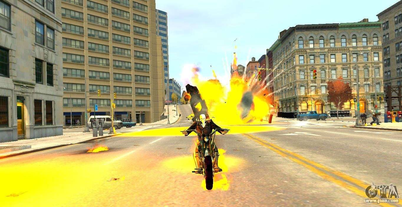 Ghost Rider for GTA 4