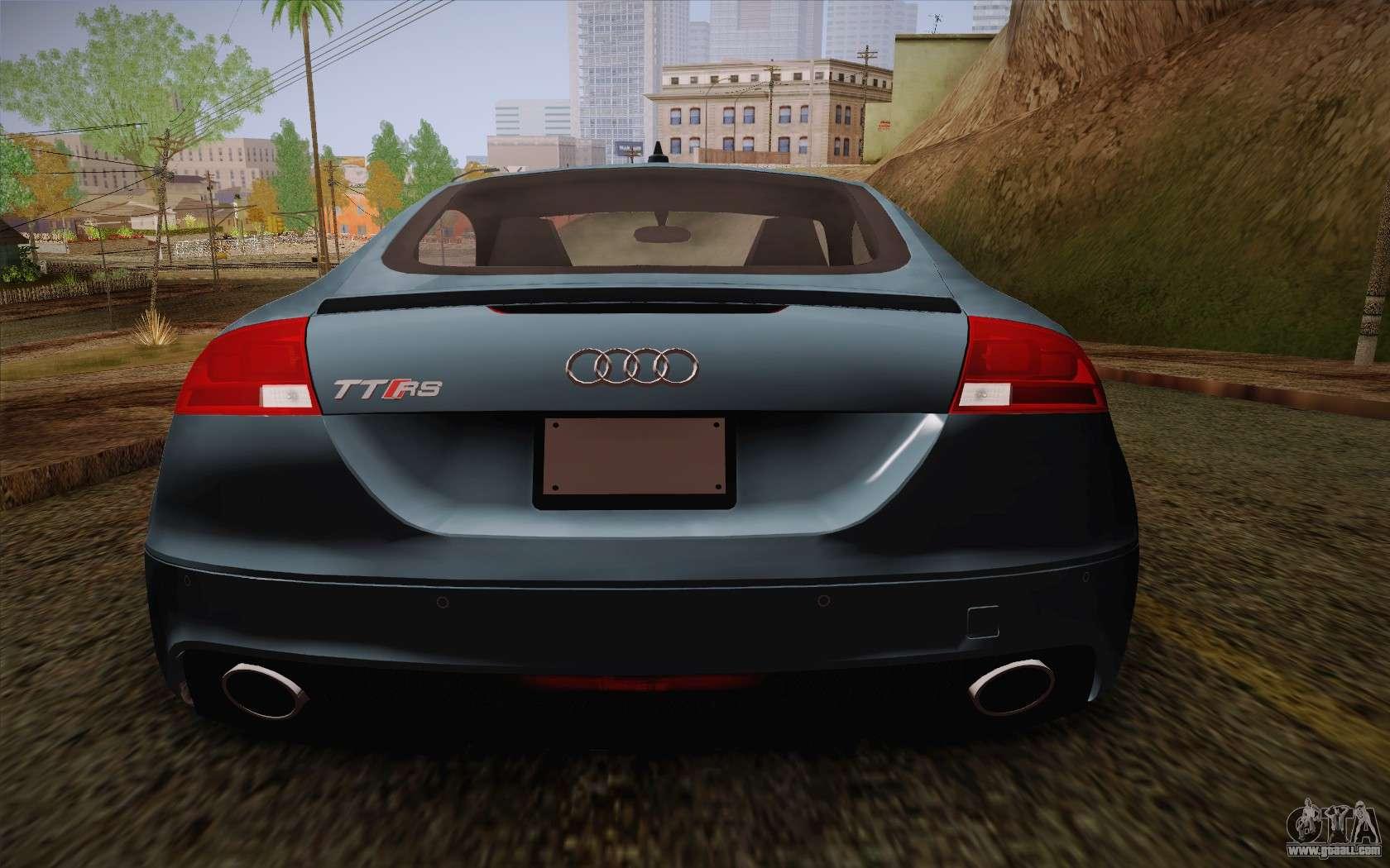 Audi Tt Rs Game: Audi TT RS 2011 For GTA San Andreas