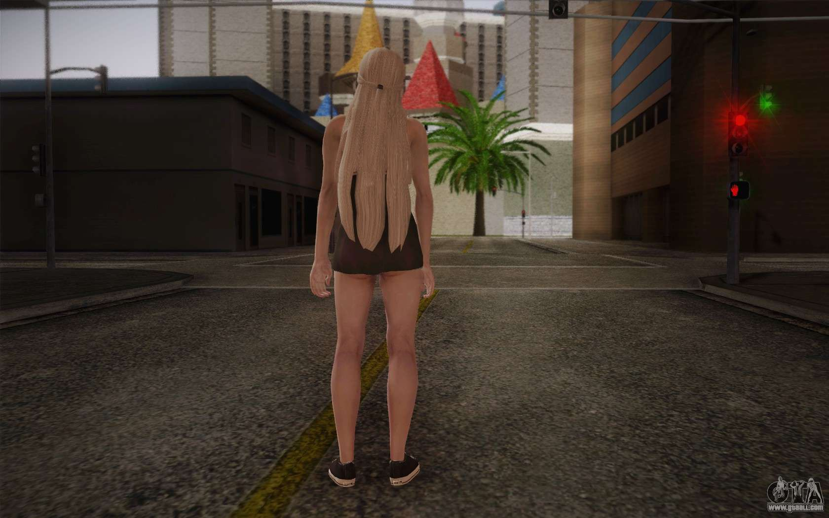 gta sa naked girl