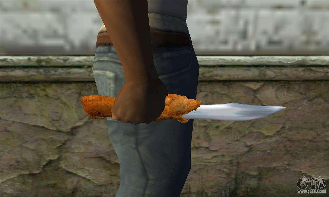 Gta San Andreas Knife Collectible Knife For Gta San
