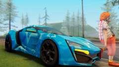 W-Motors Lykan Hypersport 2013 Blue Star