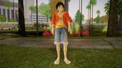 One Piece Monkey D Luffy for GTA San Andreas