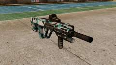 Автомат Steyr AUG-A3 Optic Aqua Camo for GTA 4