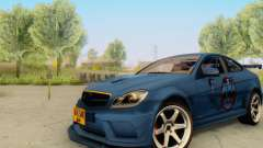Mercedes Benz C63 AMG 2012 for GTA San Andreas