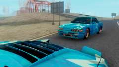 Nissan Silvia S13 Blue Star for GTA San Andreas