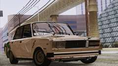 VAZ 2107 GVR for GTA San Andreas