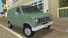 Ford E-150 1983 Short Version Commercial Van for GTA Vice City