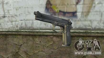 Police Beretta 92 for GTA San Andreas