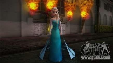 Frozen Elsa for GTA San Andreas