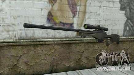 Arctic Warfare Super Magnum L115A1 for GTA San Andreas