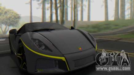 GTA Spano 2014 Carbon Edition for GTA San Andreas