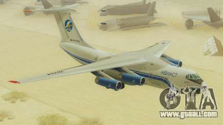 Il-76T AVAST for GTA San Andreas