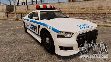 GTA V Bravado Buffalo LCPD for GTA 4