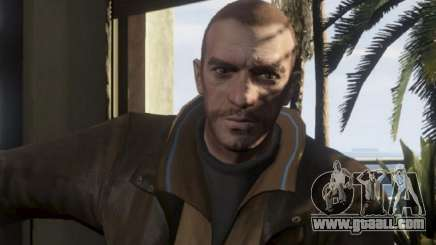 Niko Bellik for GTA 5