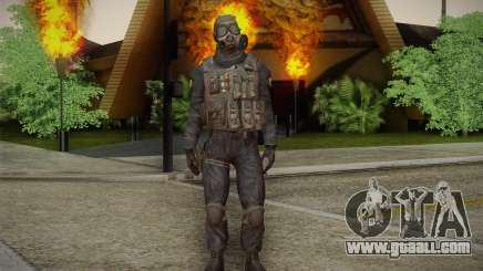 S.A.S Gas Mask for GTA San Andreas