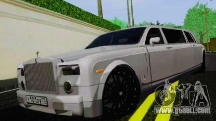 Rolls-Royce Phantom Limo for GTA San Andreas