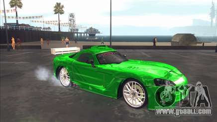 Dodge Viper SRT from NFS MW for GTA San Andreas