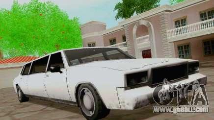 Tahoma Limousine for GTA San Andreas