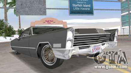 Cadillac DeVille 1967 Lowrider for GTA Vice City