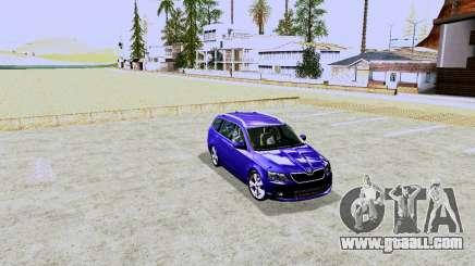 Skoda Octavia A7 Combi for GTA San Andreas