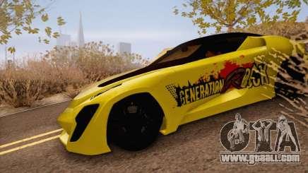 Bertone Mantide 2010 Rock Generation for GTA San Andreas