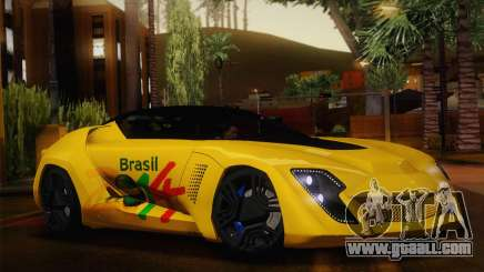 Bertone Mantide World Brasil 2010 for GTA San Andreas
