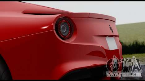 Ferrari F12 Berlinetta for GTA San Andreas left view