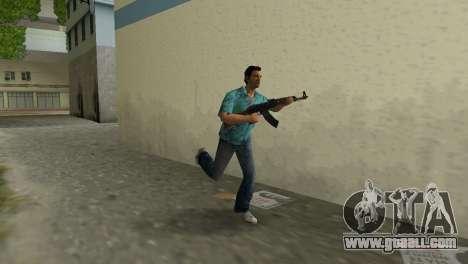 Kalashnikov Type 1 for GTA Vice City second screenshot