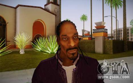 Snoop Dogg Skin for GTA San Andreas third screenshot