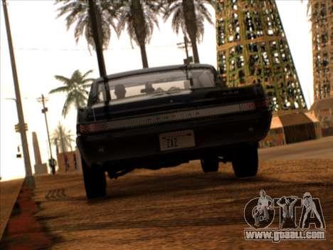 Lime ENB v1.1 for GTA San Andreas forth screenshot