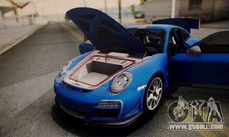 Porsche 911 GT3 RS4.0 2011 for GTA San Andreas upper view
