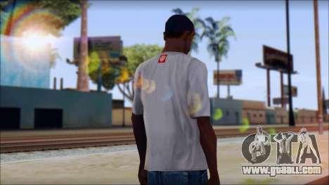 Element T-Shirt for GTA San Andreas second screenshot