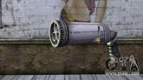 Bottle Gun from Bully Scholarship Edition for GTA San Andreas