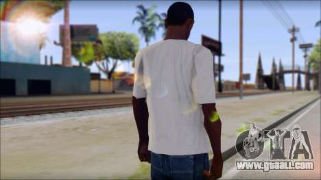 Pink Panther T-Shirt Mod for GTA San Andreas second screenshot