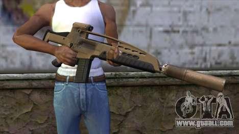 XM8 Assault Dust for GTA San Andreas third screenshot