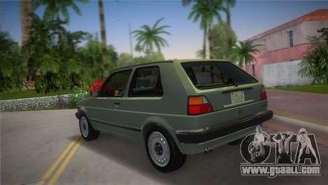 Volkswagen Golf II 1991 for GTA Vice City left view