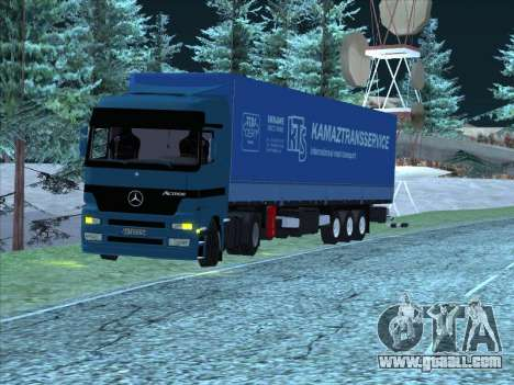 Mercedes-Benz Actros 1840 for GTA San Andreas back left view