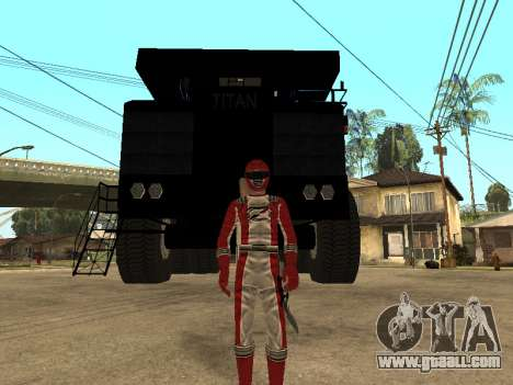 Power Rangers Operation Overdrive for GTA San Andreas