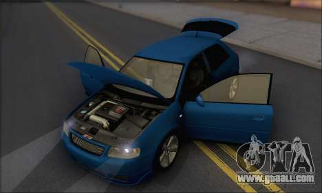 Audi A3 1999 for GTA San Andreas side view