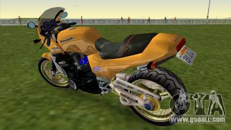Kawasaki GPZ900R Ninja Tuned for GTA Vice City left view