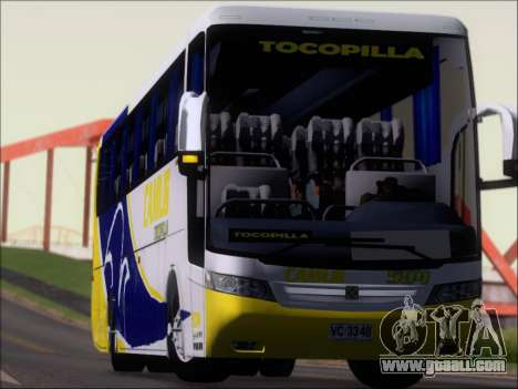 Busscar Vissta Buss LO Mercedes Benz 0-500RS for GTA San Andreas upper view