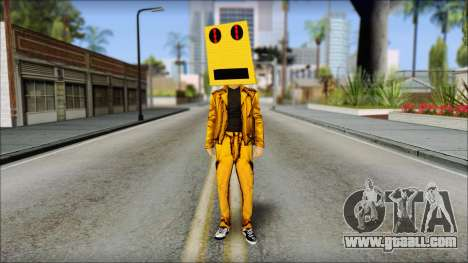 Robot Head LMFAO for GTA San Andreas