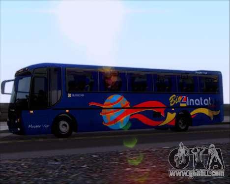 Busscar El Buss 340 Bio Linatal for GTA San Andreas back view